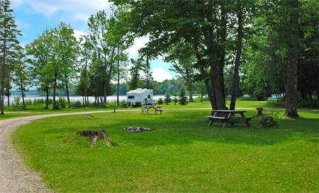 Curtis Michigan Campgrounds, Curtis MI Camping, Camping In Curtis