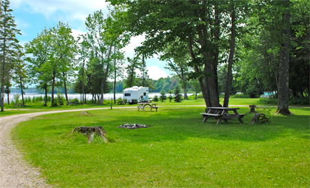 Curtis Michigan Camping