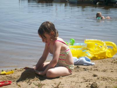 Lovin the sandy beach!