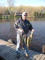 Jim Staleys Group up fishing walleye opener May 2011