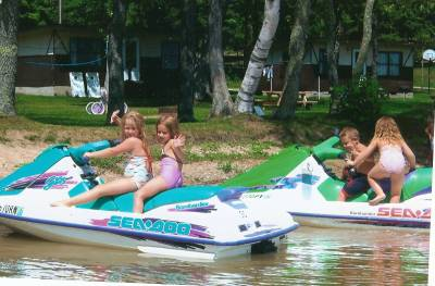 Rent a jet ski from Sherman's Resort